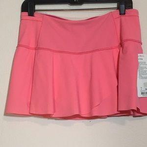 New Pink Find your Stride Lululemon Skirt
